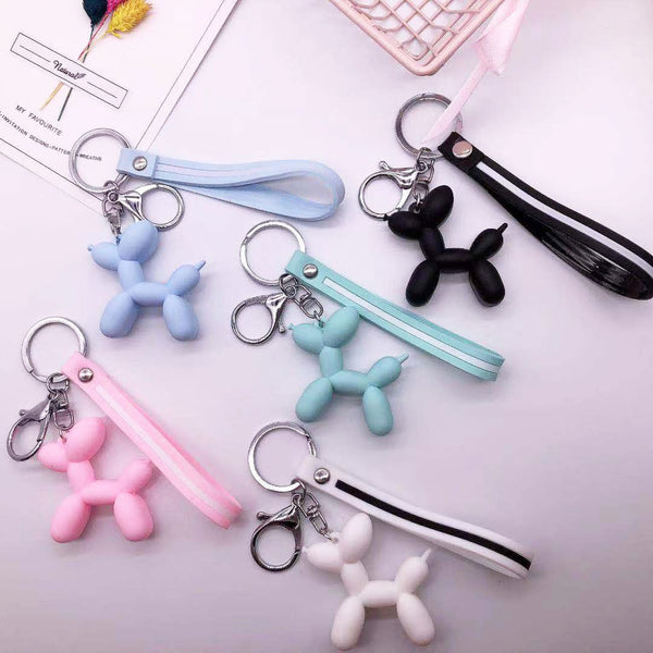 BALLOON DOG KEYCHAIN