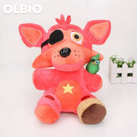 Olbio Fnaf Five Nights At Freddys Plush Toys Sister Location Rockstar Foxy