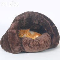 Pet Bed Cave For Cats And Dogs Soft Nest