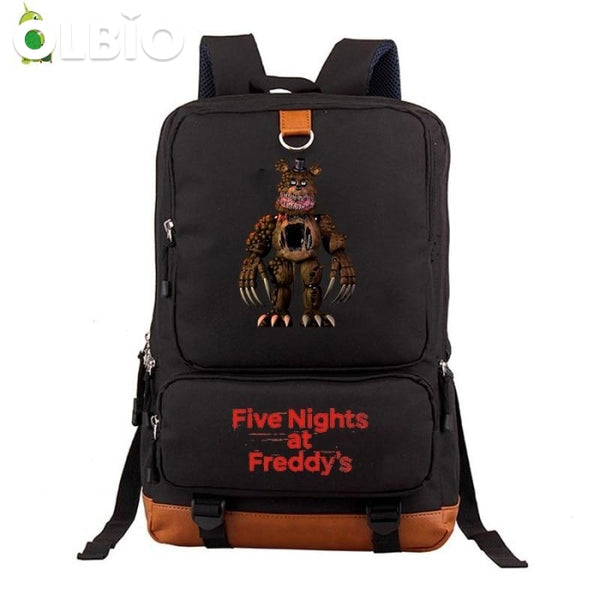 Five Nights At Freddys 2 Fnaf Backpack Women Men Laptop