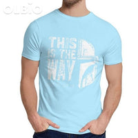 Olbio This Is My Way T-Shirt Sky Blue / 4Xl Clothes