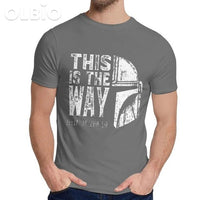 Olbio This Is My Way T-Shirt Dark Grey / 6Xl Clothes