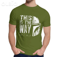 Olbio This Is My Way T-Shirt Army Green / S Clothes