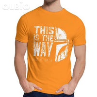 Olbio This Is My Way T-Shirt Orange / 5Xl Clothes