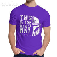 Olbio This Is My Way T-Shirt Purple / M Clothes