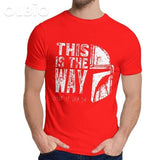 Olbio This Is My Way T-Shirt Red / 6Xl Clothes