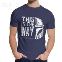 Olbio This Is My Way T-Shirt Navy Blue / 5Xl Clothes