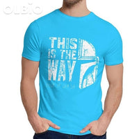 Olbio This Is My Way T-Shirt Royal Blue / M Clothes