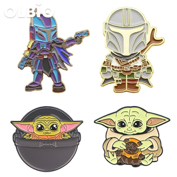 The Mandalorian Baby Yoda Pin Badge