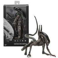 "7"" Aliens Scale Xenomorph Alien Action Figure Extendable Inner Mouth Covenant Moive Collectible 2017 NECA Alien Series"