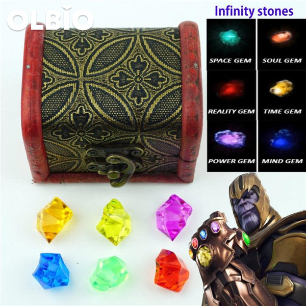 Thanos Infinity Six Stones Set Collectible
