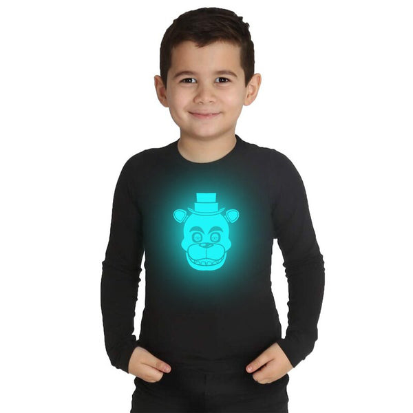 Five Night At Freddy Boys T Shirt Long Sleeve