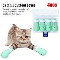 Wash Cat Feet Bath Supplies Artifact Nail Clippers Bag Anti-Scratch Bite