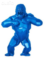 Wild Kong Red Abstract Sculpture 20Cm Blue Collectible