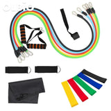 Resistance Band Exercise Fitness 11Pcs/set Style 5