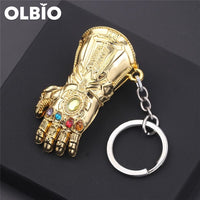 Thanos Gauntlet And Infinite Glove Multifunction Beer Opener Key Ring For Men Gifts Keychain