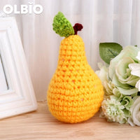 Olbio Amigurumi Fruit Pear Cute Crochet Knit Toy Gift