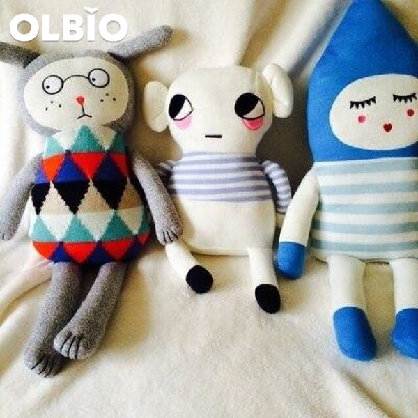 Olbio Lucky Boy Sunday Dolls Hand Knitted Toys Stuffed Doll Toy Crochet