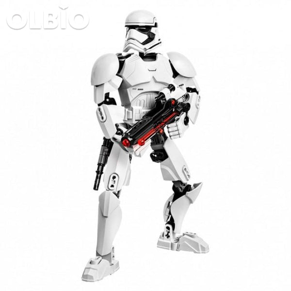 Olbio Star Wars Buildable Figure Building Block Action Toys For Kids Stormtrooper