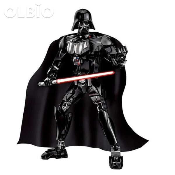 Olbio Star Wars Buildable Figure Building Block Action Toys For Kids Darth Vader
