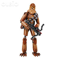 Olbio Star Wars Buildable Figure Building Block Action Toys For Kids Chewbacca