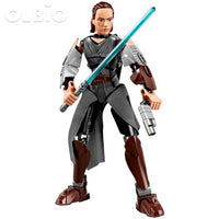 Olbio Star Wars Buildable Figure Building Block Action Toys For Kids Rey Ii