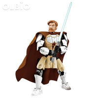 Olbio Star Wars Buildable Figure Building Block Action Toys For Kids Obi Wan