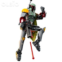 Olbio Star Wars Buildable Figure Building Block Action Toys For Kids Boba Fett
