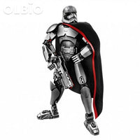 Olbio Star Wars Buildable Figure Building Block Action Toys For Kids Captain Phasma