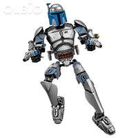 Olbio Star Wars Buildable Figure Building Block Action Toys For Kids Jango Fett