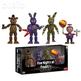 Olbio Action Figures Fnaf Toys Foxy Freddy Pvc Figure Funko Sets 4Pcs 2