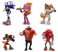 Olbio Sonic Tomy Boom Action Figure Multi Pack 6Pcs/set
