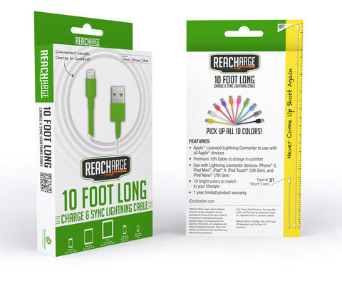 iPhone 6 Lightning Cable Green