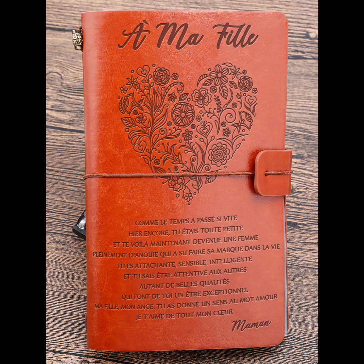 A MA FILLE - HIER ENCORE - JOURNAL VINTAGE