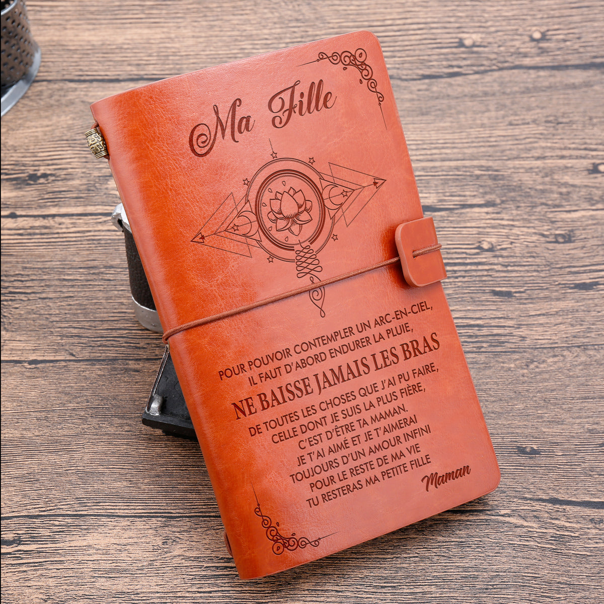 MA FILLE - MAMAN- ARC-EN-CIEL - JOURNAL VINTAGE