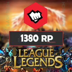 League of Legends 1380RP EU