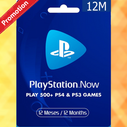 PLAYSTATION NOW 12 MONTHS  MEMBERSHIP