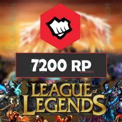 League of Legends 7200RP EU