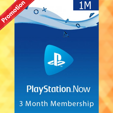 PLAYSTATION NOW 3 MONTHS  MEMBERSHIP (FR)