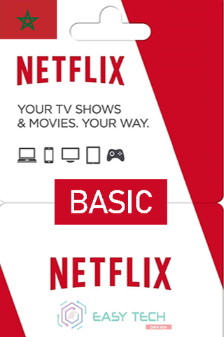 Abonnement Netflix - Basic