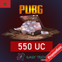 PUBG MOBILE - 550 UC - Transfert via ID (PROMOTION)