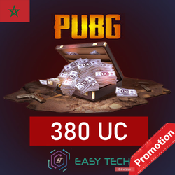 PUBG MOBILE - 380 UC - Transfert via ID (PROMOTION)
