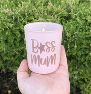 Grapefruit & Lime Medium Engraved Candle