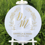 Daniella Acrylic Welcome Sign