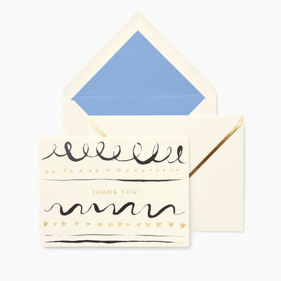 Kate Spade Daisy Place Thank You Notecard Set