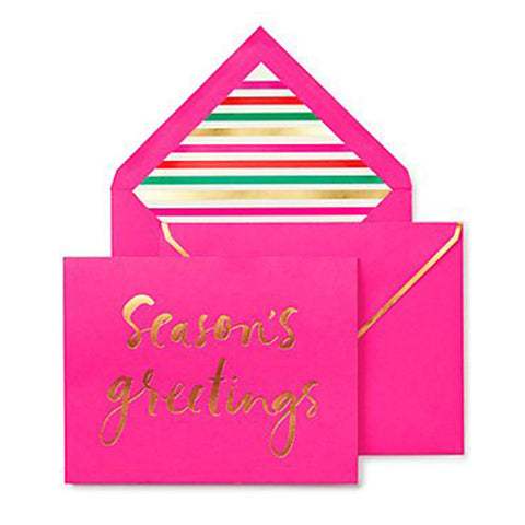 Kate Spade Seasons Greetings Notecard Set