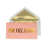 Kate Spade Pop, Fizz, Clink Card Set