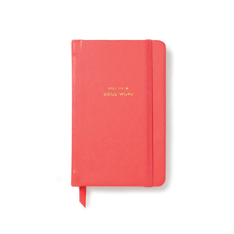 Kate Spade Put In A Good Word Notebook - Medium