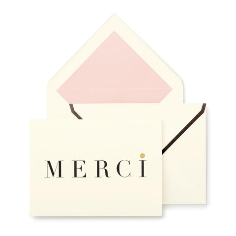 Kate Spade Merci Thank you Notecard Set