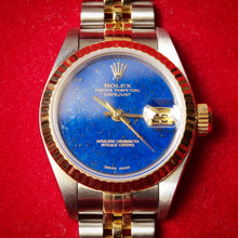 "Load image into Gallery viewer, Rolex Datejust ""Mini"" Lapis Lazuli"